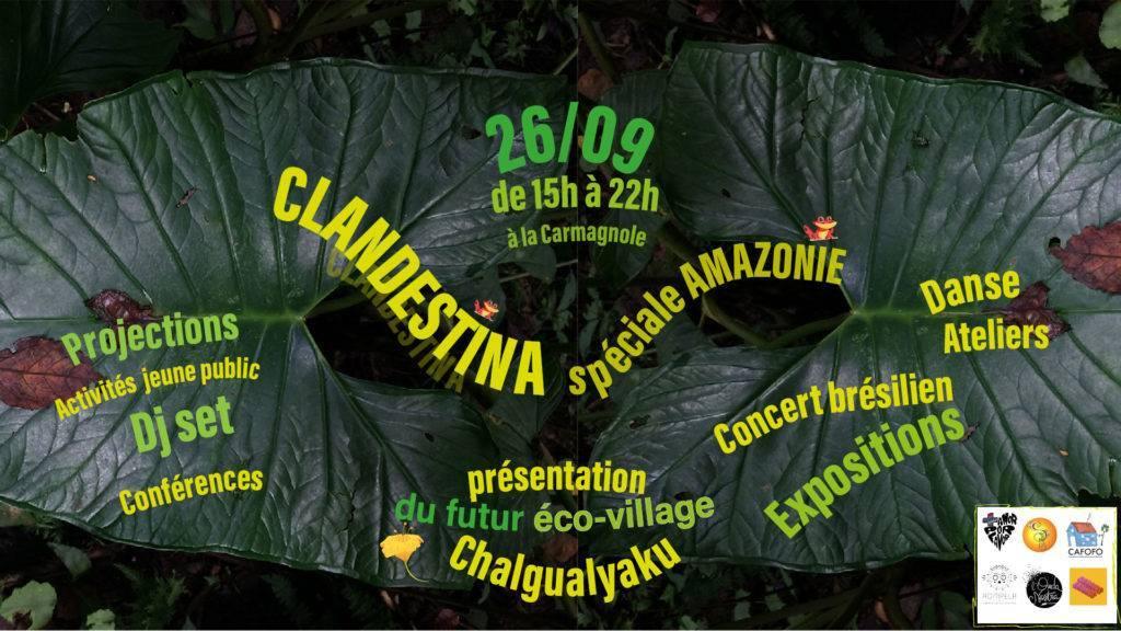 bandeau facebook2 clandestina.amazonie BD 1024x576 - Clandestina spéciale Amazonie